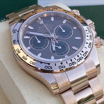 Rolex Daytona 116505 2020 chocolate, braun, index, all stickers, EU, FULL SET, unworn