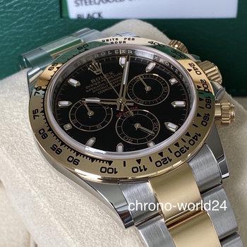 Rolex Daytona 116503 2020, black, schwarz, unworn, Box&Paper LC EU