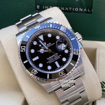 Rolex Submariner Date 116610LN unworn, Eu, 2020/09, new card, ungetragen, B&P