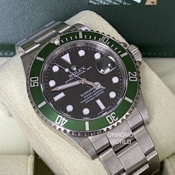 Rolex Submariner Date 16610LV 2010, V6.. Series, Eu,  Box & Papers TOP