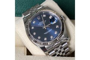 Rolex Datejust Ref.116234 blau