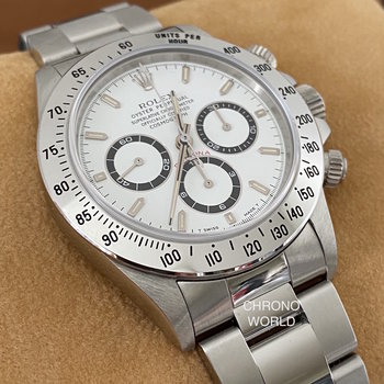 Rolex Daytona Zenith 16520 NOS, W60... Series, all stickers, Eu, unworn