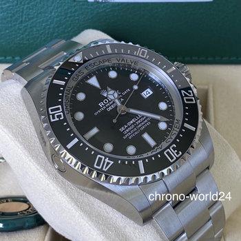 Rolex Deepsea 126660 2020, Eu, unworn, ungetragen Box&Papers
