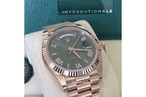 Rolex Day-Date  Ref.228235 grün 2020