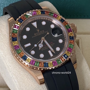 Rolex Yacht-Master 116695SATS Haribo, Eu, all stickers, unworn, 2018/04, Box&Papers