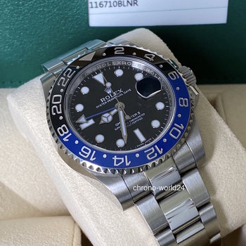 Rolex GMT-Master II 116710BLNR LC100, 2015/07, unpolished, Box&Papers, TOP