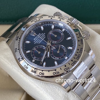 Rolex Daytona 116509 blue dial Box/Papers 2018 TOP