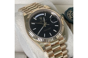 Rolex Day Date  Ref.228238  2020 schwarz