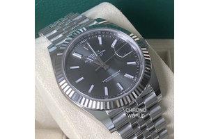 Rolex Datejust 41 Ref.126334 dark rhodium