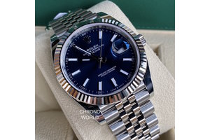 Rolex Datejust 41 Ref. 126334 blue 2020