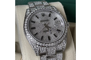 Rolex Datejust 41 Ref.126300 Iced Out