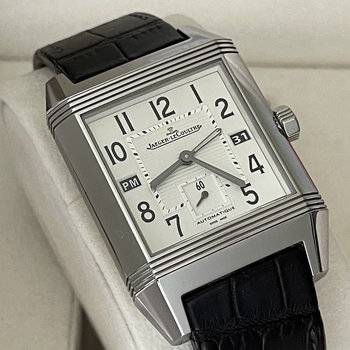 Jaeger-LeCoultre Reverso Squadra Hometime Ref. Q7008420 Box &Papers 2010, Eu, TOP