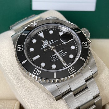Rolex Submariner Date 116610LN  LC100, 2019, Full Set, copy from orig. Sales invoice