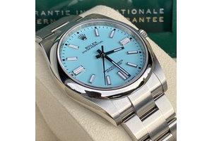 Rolex Oyster Perpetual Ref.124300 tiffany