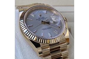 Rolex Day Date  Ref.228238  silber, 2020