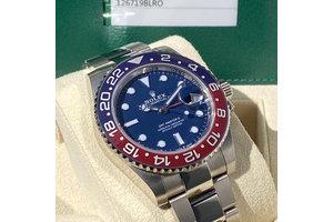 Rolex GMT-Master II Ref. 126719BLRO Pepsi