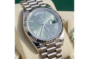 Rolex Day Date  Ref.228239 2021  grün
