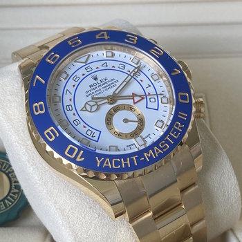 Rolex Yacht-Master II 116688 Eu, 2021, unworn, ungetragen, some stickers, mercedes hands,