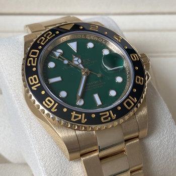 Rolex GMT-Master II 116718LN LC100, green, grün, 2016. like new, TOP