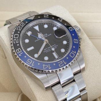 Rolex GMT-Master II 116710BLNR 2016, EU, unpolished, Box&Papers, TOP