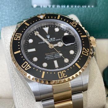 Rolex Sea-Dweller Ref.126603  2021, Eu, unworn, ungetragen, Box&papers