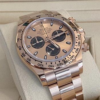 Rolex Daytona 116505 2021 rose, pink, Eu, unworn, ungetragen, Box&Papers