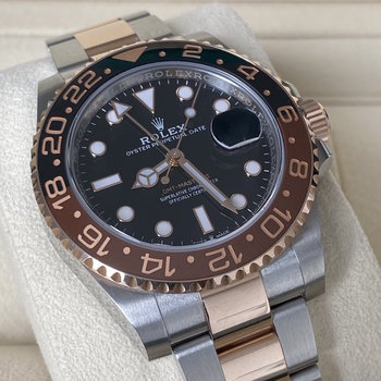 Rolex GMT-Master II 126711CHNR, Eu, 2018, near mint, Box & Papers, TOP, Rootbeer