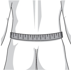 measure lower back