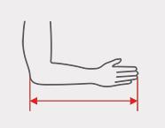 reh4mat Messschlinge Unterarm