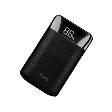 HOCO HOCO Domon Powerbank Dual USB 10000 mAh - Zwart
