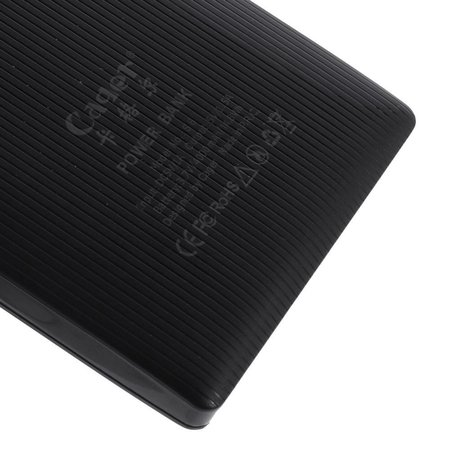 Cager CAGER Ultraslim 4000 mAh 1.5A Powerbank - Zwart