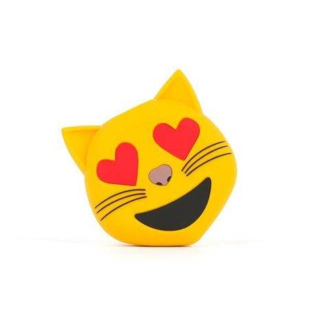 Verliefde Kat Emoji Powerbank 3600 mAh
