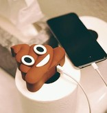 Lachende Drol Emoji Powerbank 3600 mAh - Bruin
