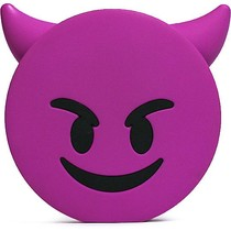Duivel Emoji Powerbank 3600 mAh - Paars