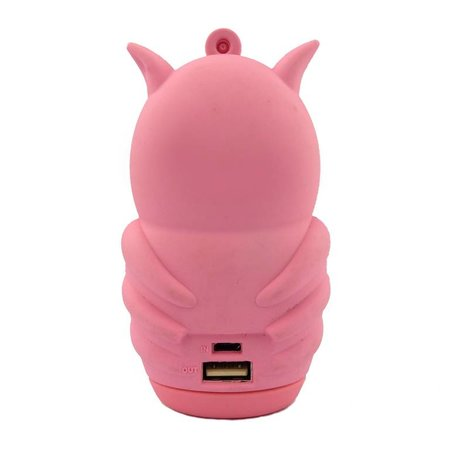 Roze Uil Powerbank 5500 mAh