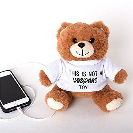 Knuffelbeer Powerbank 8800 mAh - Wit Shirt