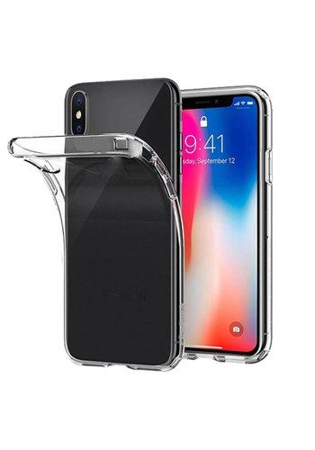 Transparant TPU Hoesje iPhone X