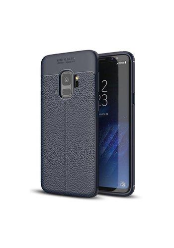 Just in Case Soft Design TPU Samsung Galaxy S9 Case (Blauw)