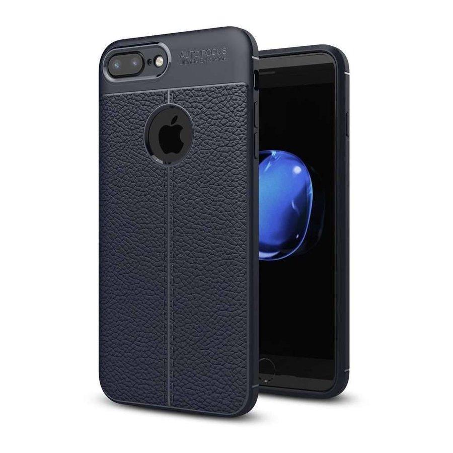 Just in Case Soft Design TPU Apple iPhone 7 Plus / 8 Plus Case (Blauw)