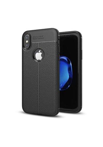 Just in Case Soft Design TPU Backcase Zwart iPhone X