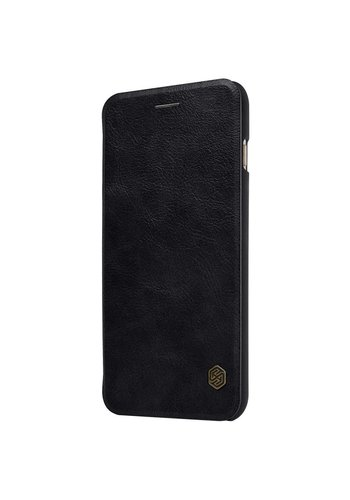 Nillkin Qin Leren Bookcase Zwart iPhone 7/8 Plus