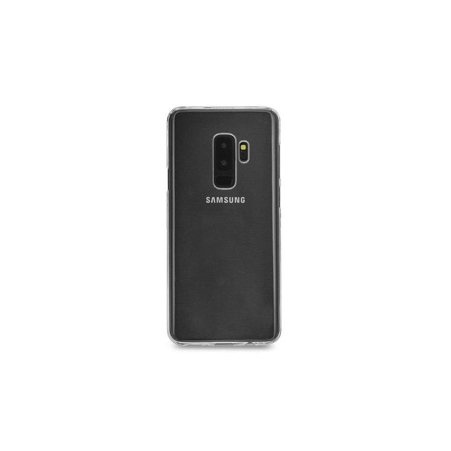 Siliconen Hoesje Voor Samsung Galaxy S9 Plus  (Transparant)
