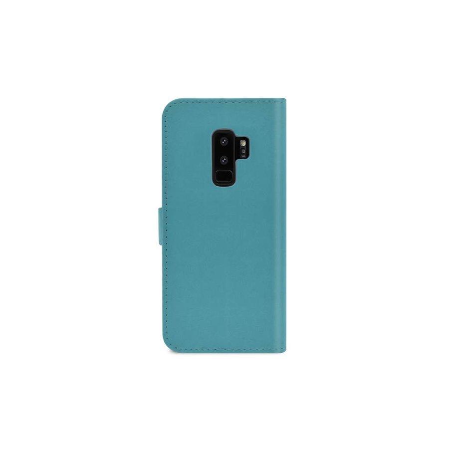 TPU Bookcase Voor Galaxy S9 Plus (Blauw)