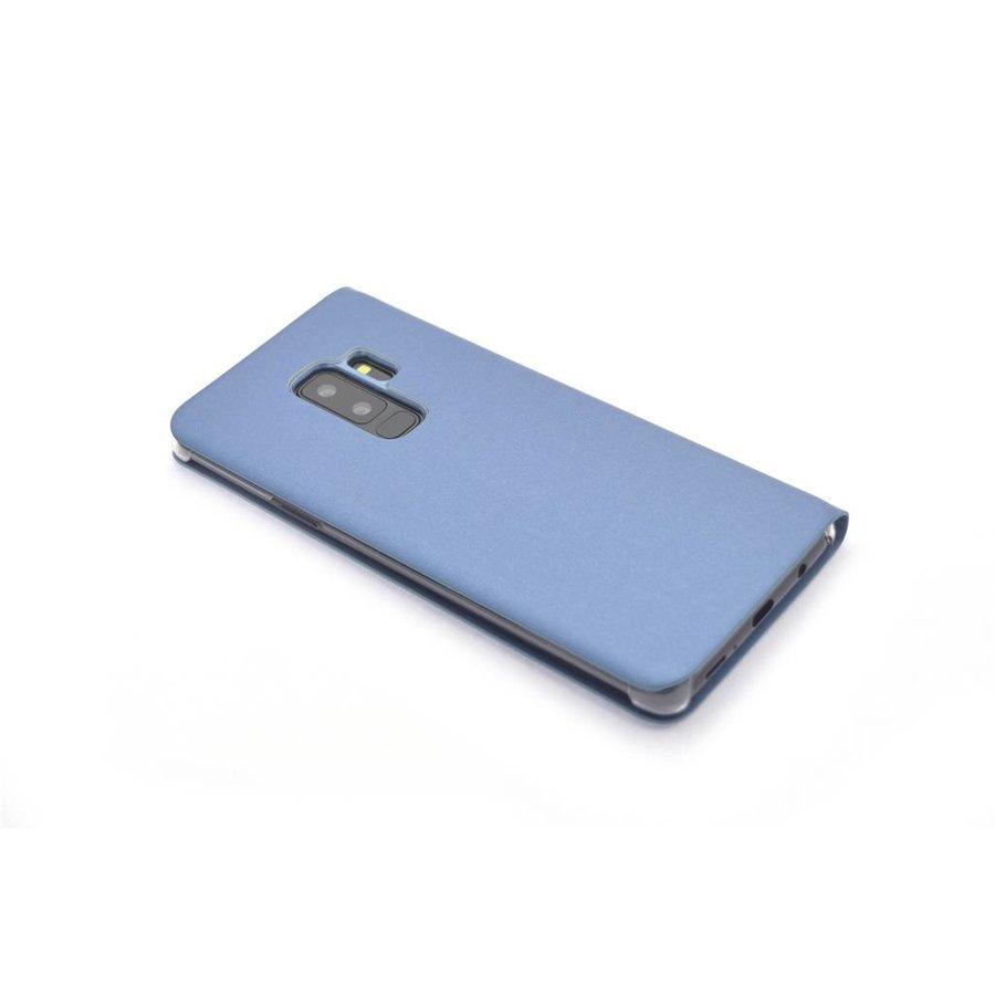 TPU Bookcase Voor Samsung Galaxy S9 Plus (Paars)