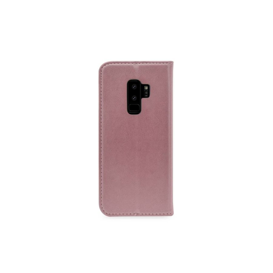 TPU Bookcase Voor Galaxy S9 Plus (Rose Gold)