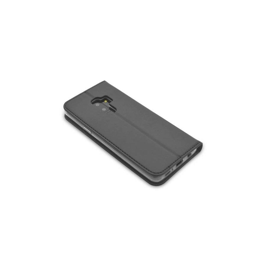 TPU Bookcase Voor Galaxy S9 Plus (Zwart)