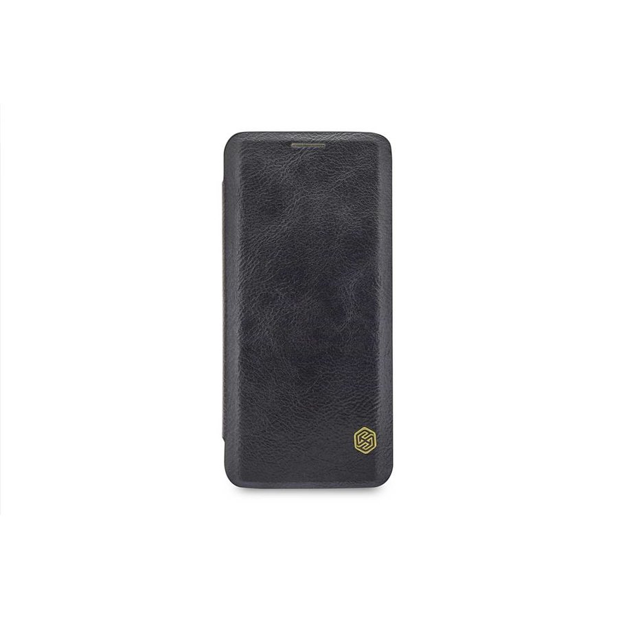 Nillkin Qin Leren Bookcase Zwart voor Samsung Galaxy S9 Plus