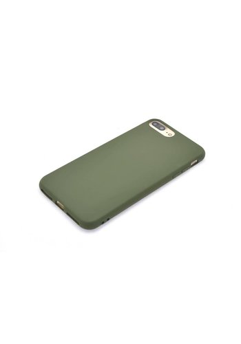 Backcase Siliconenhoesje Groen iPhone 7/8 Plus