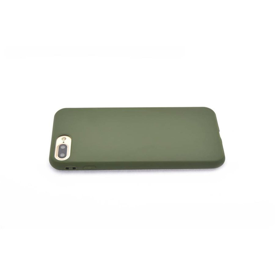 Backcase Siliconenhoesje Groen voor iPhone 7/8 Plus