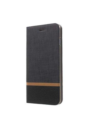 Just in Case Bookcase Striped Black iPhone 7/8 Plus